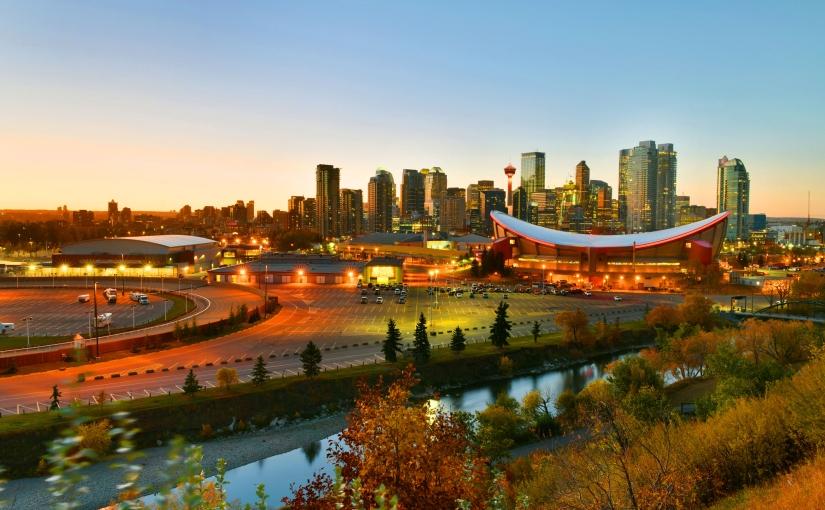 Calgary City Skyline